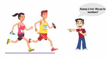 Running is Free! Why pay for Marathons?